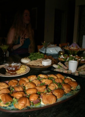 a fingerfood feast!