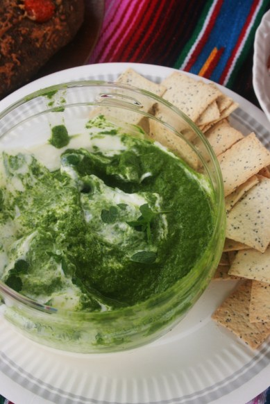 Spinach and Yoghurt Dip by Goldtoast Supper Club at Picnic at Tugun Gold Coast