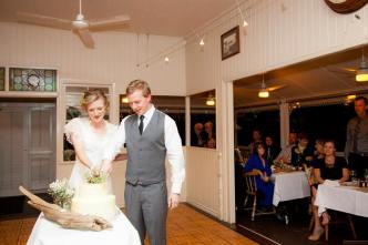 Photo by Kitanobo Photography at Mavis's Kitchen Wedding Cake by Goldtoast Supper Club Gold Coast