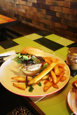 Beef Burger at Department of Coffee Palm Beach Gold Coast. Photo by Goldtoast Supper Club