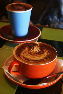 Coffee at Department of Coffee Palm Beach Gold Coast. Photo by Goldtoast Supper Club