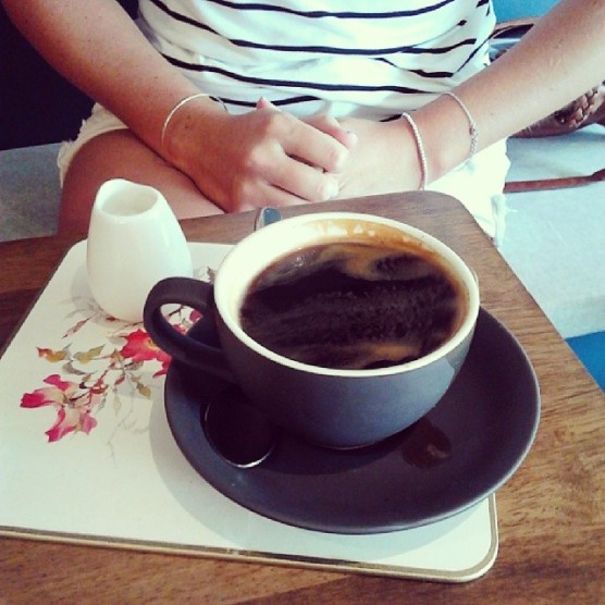 Long Black with Soy.