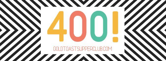 400 likes on facebook. How nice!