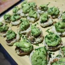 Crab Cakes with Zesty Avocado