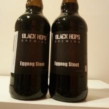 Then it's bottled! Photo from @blackhopsbeer on instagram, I didn't witness the bottling.