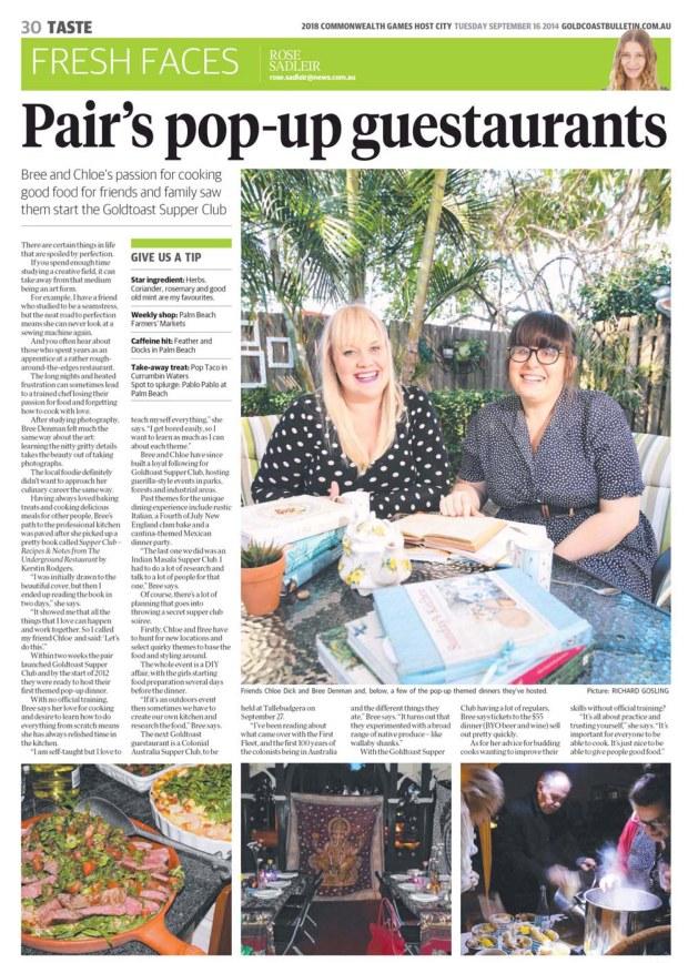 Gold Coast Bulletin Smar... 16 Sep 2014 - Page #30