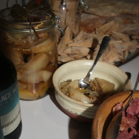 Pickled Onion & Salt Beef