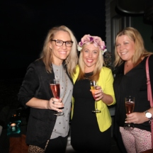 Guests at Spring Fling hosted by Goldtoast Supper Club October 2014 Secret Pop Up Dining Elanora Gold Coast (2)