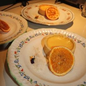 Orange Blossom Tart at Spring Fling hosted by Goldtoast Supper Club October 2014 Secret Pop Up Dining Elanora Gold Coast (4)