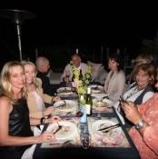 Our lovely guests for Spring Fling hosted by Goldtoast Supper Club October 2014 Secret Pop Up Dining Elanora Gold Coast