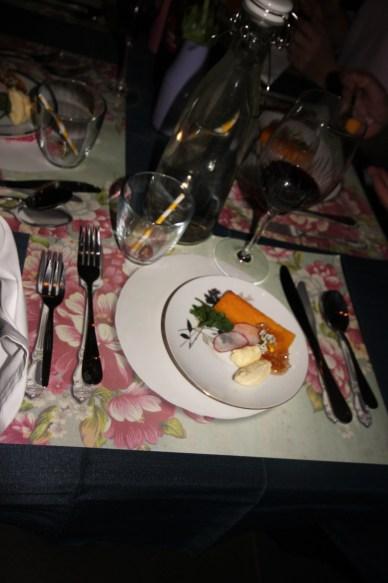 Serving up the Polenta, Mascarpone & Honeycomb at Spring Fling hosted by Goldtoast Supper Club October 2014 Secret Pop Up Dining Elanora Gold Coast