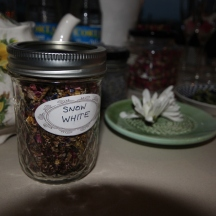 Snow White tea from Tea Potion at Spring Fling hosted by Goldtoast Supper Club October 2014 Secret Pop Up Dining Elanora Gold Coast
