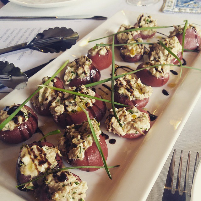 Tuna filled popular peppers