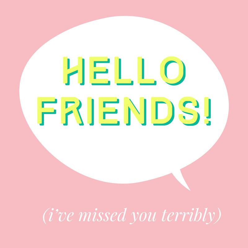 Hello Friends!