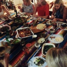 Mexican Sunday Supper, Gold Coast event