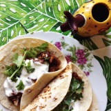 Tacos at Mexican Sunday Supper, Gold Coast event