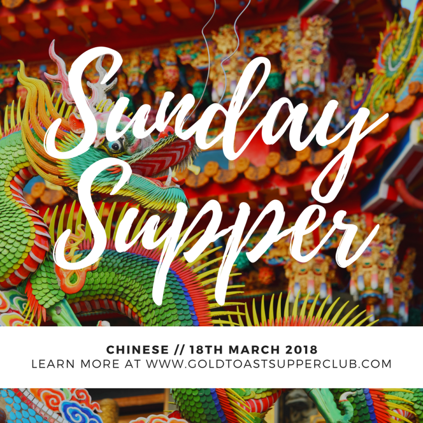 Chinese Sunday supper